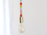 A New Bloom Simple Wooden Beads Light