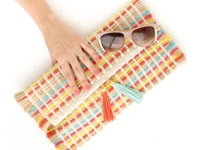A Kailo Chic Life Placemat Clutch