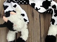 A girl and a glue gun Plush Animal Scarf
