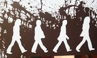 A little artsy The Beatles Wall Art
