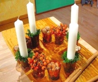 ARD-Buffet Advent Wreath in Glasses