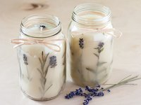 Adventures In Making Lavender Votive