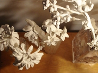 Apartment Therapy Plaster Flowers