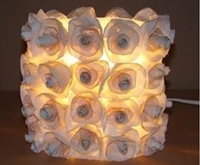 Atelie do Lixo Recycled Rose Lamp