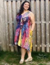 Balzer Designs Painted Dress