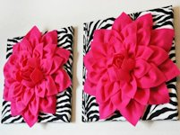 BeesDIY Flower Wall Art