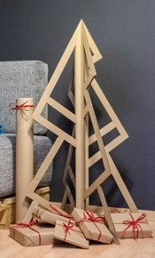 Behance Sabine Fuereder Cardboard Christmas Tree