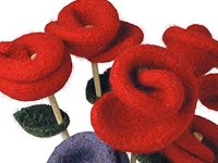 Berroco Knitted Rose