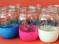 Brit + Co Balloon Decorated Jars