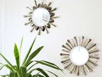 By Wilma Cutlery Sunburst Mirror