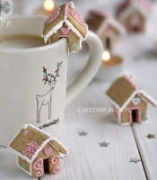 CakeTime Mini Gingerbread Houses