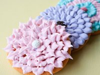 Cakewhiz Chrysanthemum Cookie