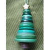 Modern Minerals Button Tree Ornament