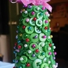 Cup Of Delight Button Christmas Tree