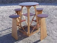 Coroflot Joe Warren Fold-Out Picnic Table