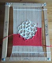 Cowcumbers Studio Shannon Donovan Incorporate Shapes in Weaving