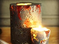 Craft Thyme Halloween Candles