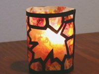 CraftPenguin Autumn Votive
