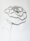 Crafting Fingers Wire Rose