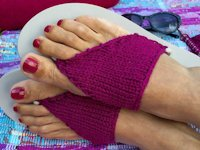 Crafts from the Cwtch Knitted Flip-Flops