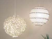 Crafty Nest Paper Lamps