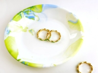 Creative Ramblings Marbled Jewelry Dish