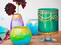 Creme de la Craft Moroccan Votive