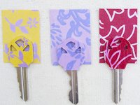 Creme de la Craft Scrapbook Paper Key Mark