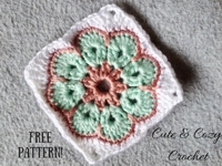 Cute and Cozy Crochet African Flower Granny Square