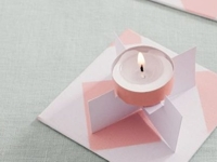 DaWanda GU Verlag Cardboard Tealight Holder