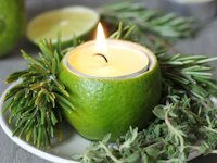 Daily Squeeze Lime and Herb Candle