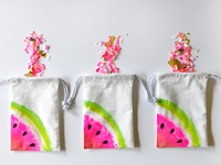Delineate Your Dwelling Little Watermelon Bags