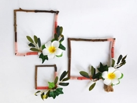 Delineate Your Dwelling Yarn Wrapped Twig Wreath