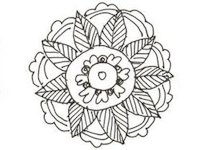 DeviantArt Quaddles-Roost Drawing a Paisley Flower