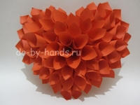 Do by hands 3D Paper Heart