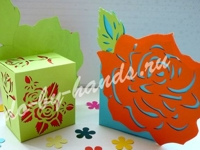 Do by hands Paper Cut Box