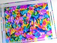 Dream a Little Bigger Colourful Acrylic Tray