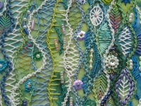 ELLAS CRAFT CREATIONS Beautiful Freeform Embroidery
