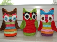 Elealinda-Design Crochet Owl