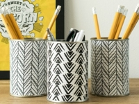 Grillo Designs Can Pencil Holder