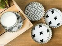 Grillo Designs Coaster From Tart Tin