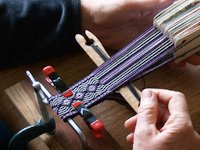 Gudrun Polak Simple Loom for Card Weaving