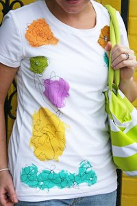 Happy Together Scribble Flower T-Shirt