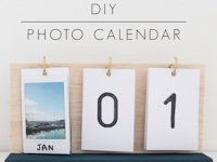 Harri Wren Perpetual Photo Calendar
