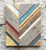 Hazel and Gold Designs Barnwood Wall Art