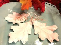 Hometalk Vicki and Jennifer Plaster Leaves
