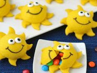 Hungry Happenings Chocolate Filled Sun Cookies
