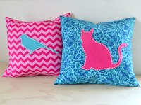 I Love To Create No Sew Applique Pillow