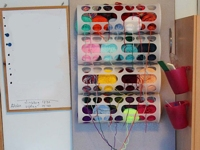 yarnbombing station unikatissimas. Black Bedroom Furniture Sets. Home Design Ideas
