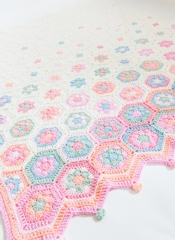 Jip by Jan Crochet Hexagon Blanket